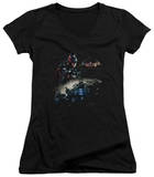 Juniors: Batman: Arkham Knight - Knight Rider V-Neck Shirts