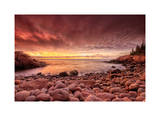Sunrise, Monument Cove Giclee Print by Michael Hudson