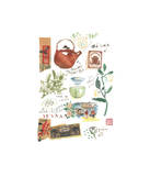 Chinese Tea Giclee Print by Lucile Prache