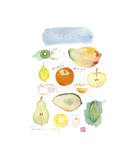 Winter Fruit Giclee Print by Lucile Prache