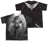 Youth: Anne Stokes - Prayer For The Fallen (Front - Back Print) T-shirts