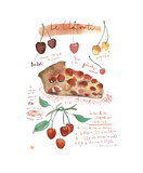 Cherry Clafoutis Giclee Print by Lucile Prache