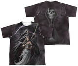 Youth: Anne Stokes - Summon The Reaper (Front - Back Print) T-Shirt