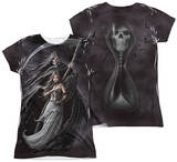 Juniors: Anne Stokes - Summon The Reaper (Front - Back Print) Womens Sublimated