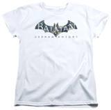 Womans: Baman Arkham Knight - Descending Logo T-shirts