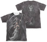 Anne Stokes - Summon The Reaper (Front - Back Print) T-shirts