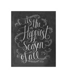 It's The Happiest Season Of All Giclee Print