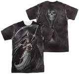 Anne Stokes - Summon The Reaper (Front - Back Print) Shirt