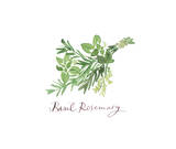 Basil Rosemary Giclee Print by Lucile Prache