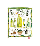 Olives Giclee Print by Lucile Prache
