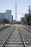 Railroad Tracks New Orleans USA Photographic Print by  petert2