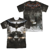 Batman: Arkham Knight - Poster (Front - Back Print) T-Shirt