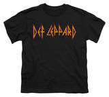 Youth: Def Leppard - Horizontal Logo Shirts