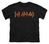 Youth: Def Leppard - Horizontal Logo Shirts