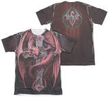 Anne Stokes - Gothic Guardian (Front - Back Print) Shirts