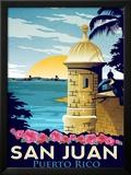 San Juan, Puerto Rico Posters by Matthew Schnepf