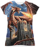Juniors: Anne Stokes - Dragon's Fury Shirt