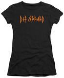 Juniors: Def Leppard - Horizontal Logo T-shirts