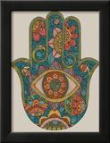Hamsa Print by Valentina Ramos
