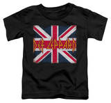 Toddler: Def Leppard - Union Jack T-shirts