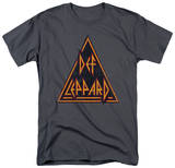 Def Leppard - Distressed Logo T-shirts