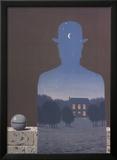 L'Heureux Donateur Art by Rene Magritte