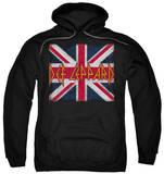 Hoodie: Def Leppard - Union Jack Pullover Hoodie