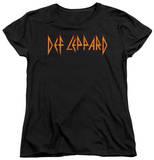 Womens: Def Leppard - Horizontal Logo Shirt