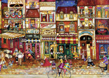 Streets of France 1000 Piece Puzzle Jigsaw Puzzle