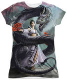 Juniors: Anne Stokes - Dragon Dancer T-shirts