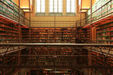 Large Old Dutch Library in the Rijksmuseum in Amsterdam Photographic Print by Zarya Maxim