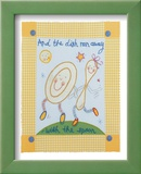 And the Dish Ran Away Prints by Sophie Harding