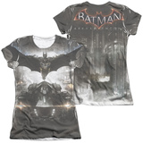 Juniors: Batman: Arkham Knight - Poster (Front - Back Print) Shirts