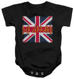 Infant: Def Leppard - Union Jack Onesie Infant Onesie