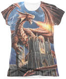 Juniors: Anne Stokes - Dragon's Fury T-Shirt
