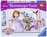 Sofia's Royal Adventures - Two 24 Piece Puzzles Jigsaw Puzzle