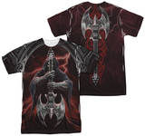 Anne Stokes - Rock God (Front - Back Print) Shirts