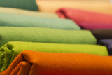 Different Colors Silk Fabric Photographic Print by Andrea Izzotti