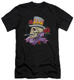 Poison - Classic Skull (slim fit) T-shirts