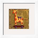 Giraffe Print by Wilma Sanchez