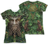 Juniors: Anne Stokes - Oak King (Front - Back Print) Womens Sublimated