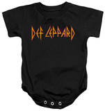 Infant: Def Leppard - Horizontal Logo Onesie Infant Onesie
