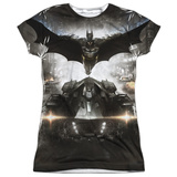 Juniors: Batman: Arkham Knight - Poster T-Shirt