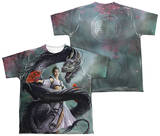 Youth: Anne Stokes - Dragon Dancer (Front - Back Print) Shirt