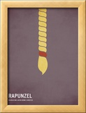 Rapunzel Posters by Christian Jackson