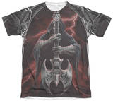 Anne Stokes - Rock God Sublimated