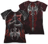 Juniors: Anne Stokes - Rock God (Front - Back Print) Womens Sublimated
