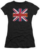 Juniors: Def Leppard - Union Jack T-Shirt