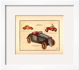 Automobile Type Renault Prints by Laurence David