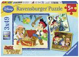 Jake's Pirate World - Three 49 Piece Puzzles Jigsaw Puzzle